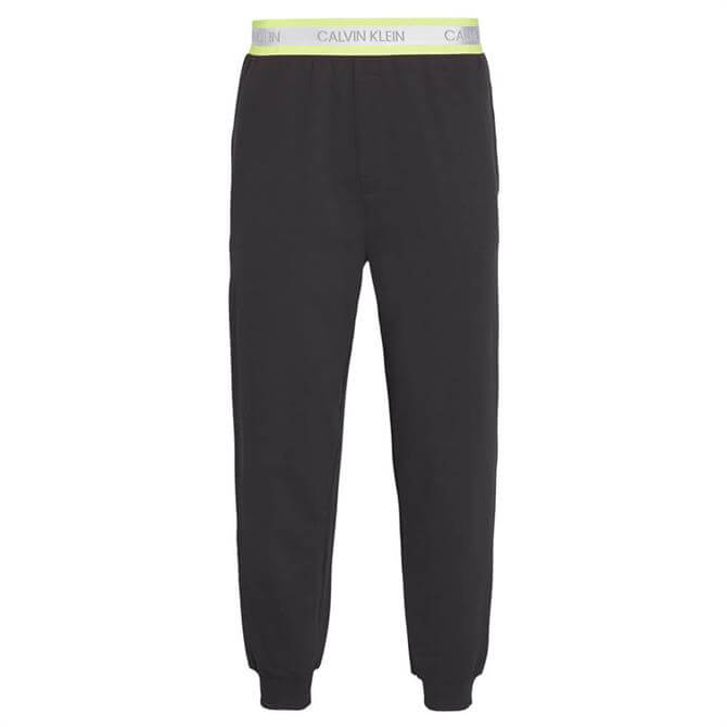 Calvin Klein Lounge Joggers with Neon Signature Waistband