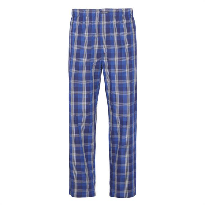Calvin Klein Blue Checked Pyjama Pants