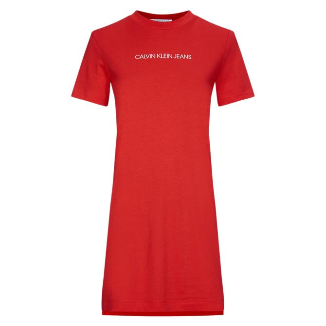 Calvin Klein Organic Cotton T-Shirt Dress