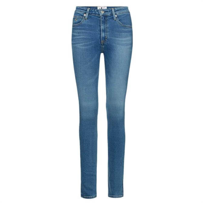Calvin Klein 010 High Rise Skinny Ankle Jeans