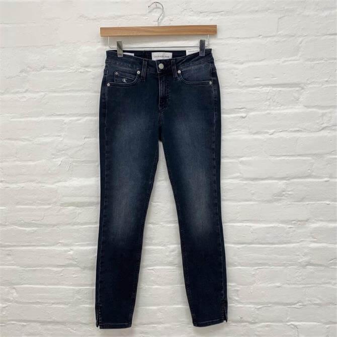 Calvin Klein Mid Rise Skinny Jeans