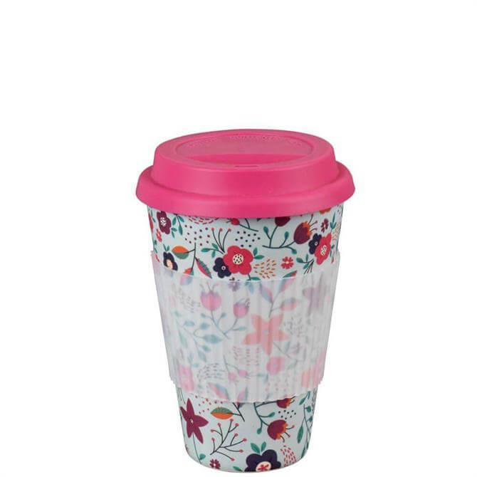 Cambridge Poppy Flowers Reusable Travel Mug