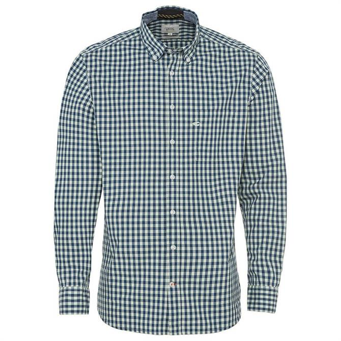 Camel Active Regular Fit Pure Cotton Checked Shirt