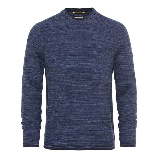 Camel Active Blue Two Tone Pullover