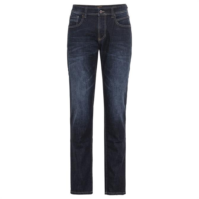 Camel Active Houston 5-Pocket Indigo Blue Jeans