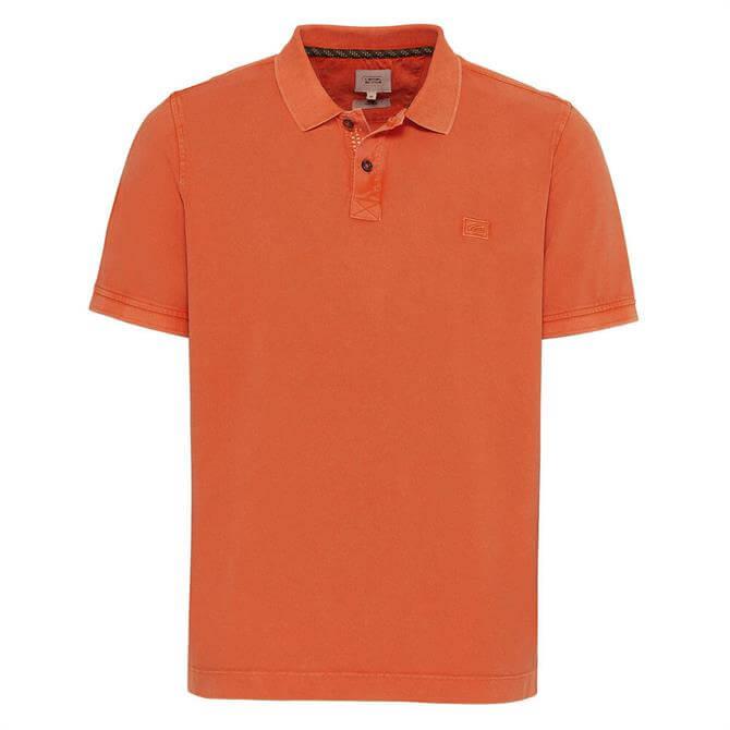 Camel Active Short Sleeved Cotton Polo Shirt