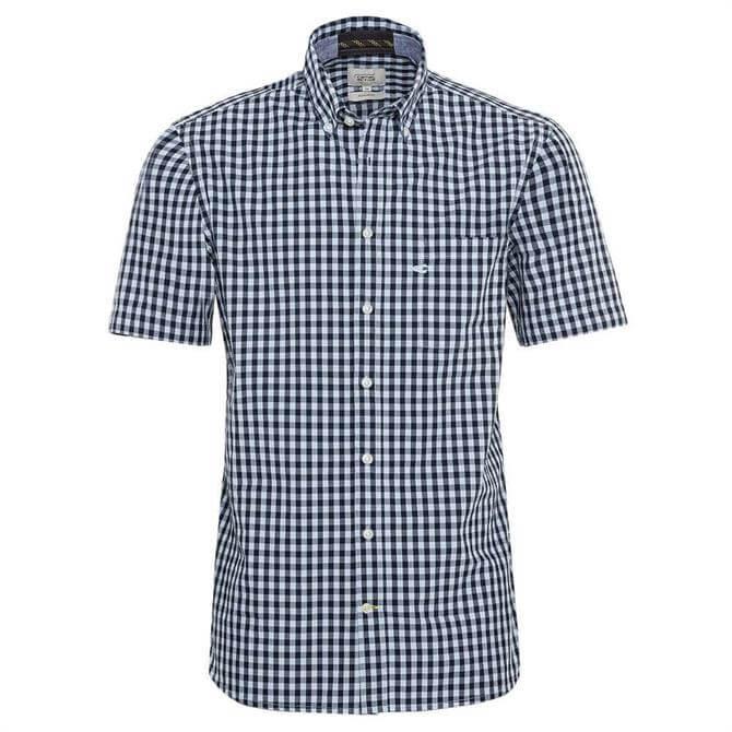 Camel Active Vichy Check Short Sleeved Shirt