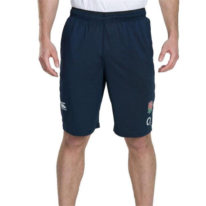 Canterbury England Rugby Polyester Shorts - Navy