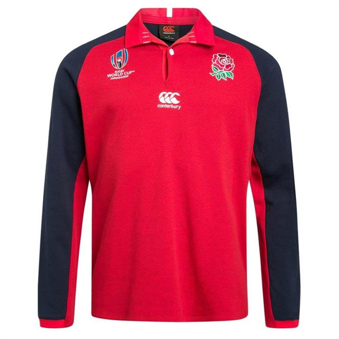 Canterbury England Rugby World Cup 2019 Alternate Long Sleeve Classic Jersey