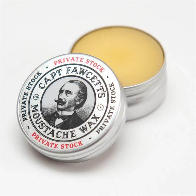 Captain Fawcett Private Stock Moustache Wax 15ml