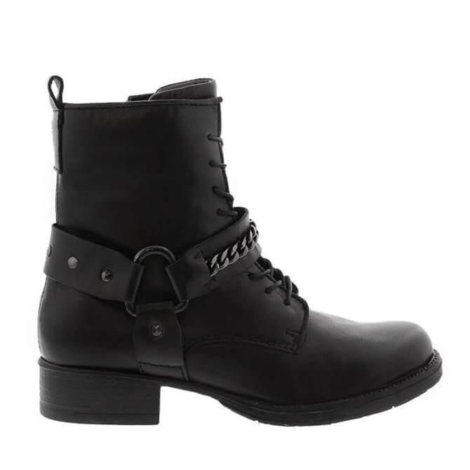 Carl Scarpa Azalea Black Ankle Boots