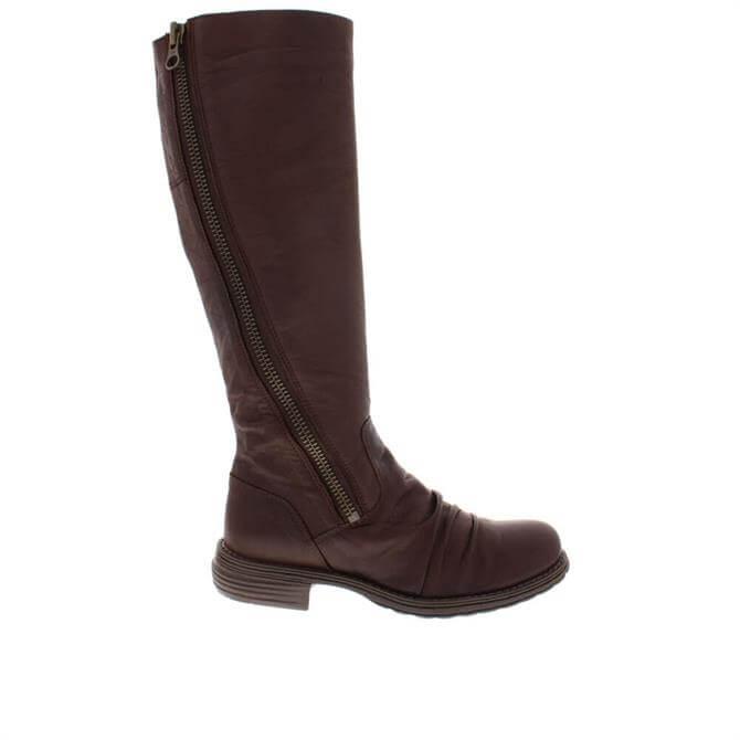 Carl Scarpa Alegria Brown Leather Boots