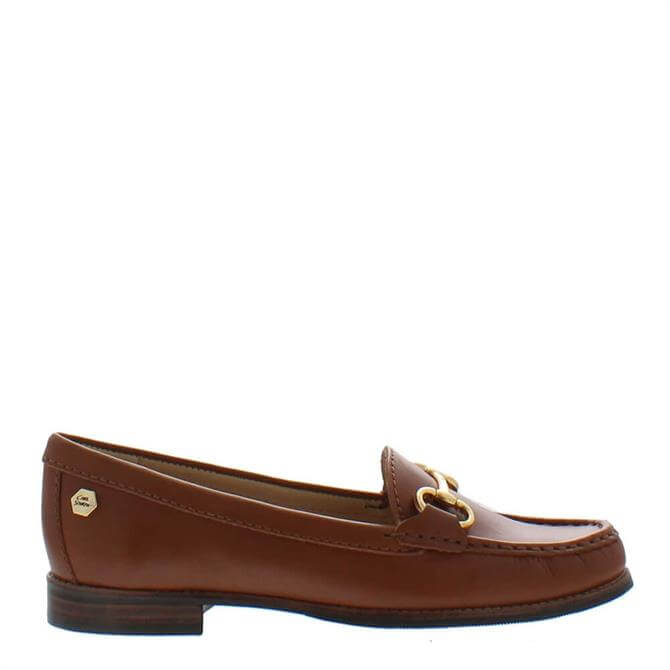 Carl Scarpa Aubree Tan Leather Loafers