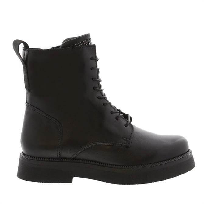 Carl Scarpa Aymara Black Ankle Boot