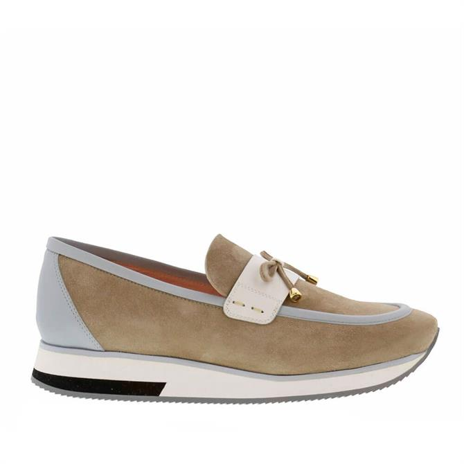 Carl Scarpa House Collection Beth Grey Loafers