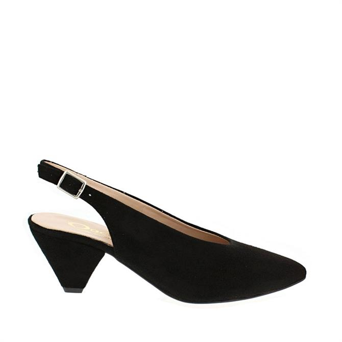 Carl Scarpa Dolce Suede Slingback Court Shoes