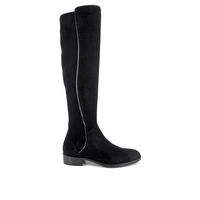 Carl Scarpa House Collection Emma Knee High Black Suede Boots