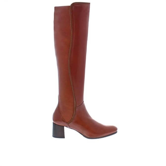 Carl Scarpa House Collection Emma Knee High Cognac Boots