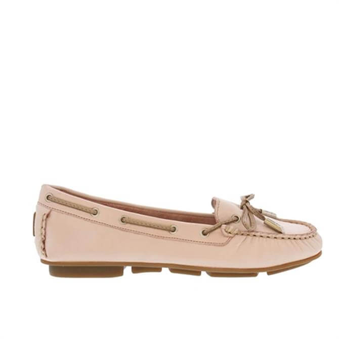 Carl Scarpa Rochele Rose Leather Loafers