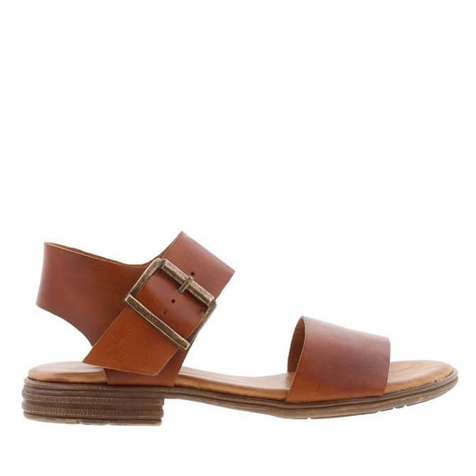 Carl Scarpa Venice Tan Leather Sandals