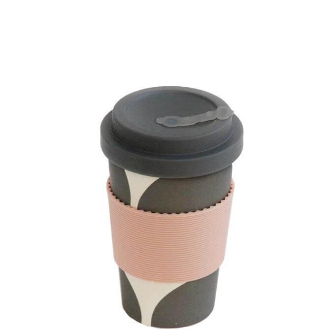 Caroline Gardner Big Spot Eco Bamboo Coffee Cup
