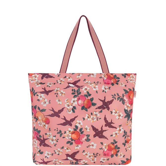 Cath Kidston Orchard Birds Large Foldaway Tote Bag