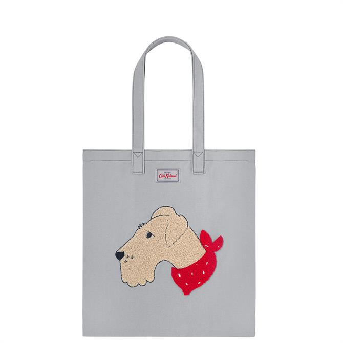 Cath Kidston Dog Portraits Embroidered Cotton Bookbag