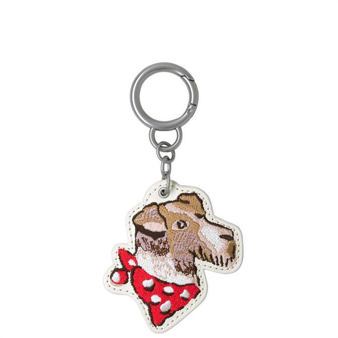 Cath Kidston Dog Portraits Dog Key Ring