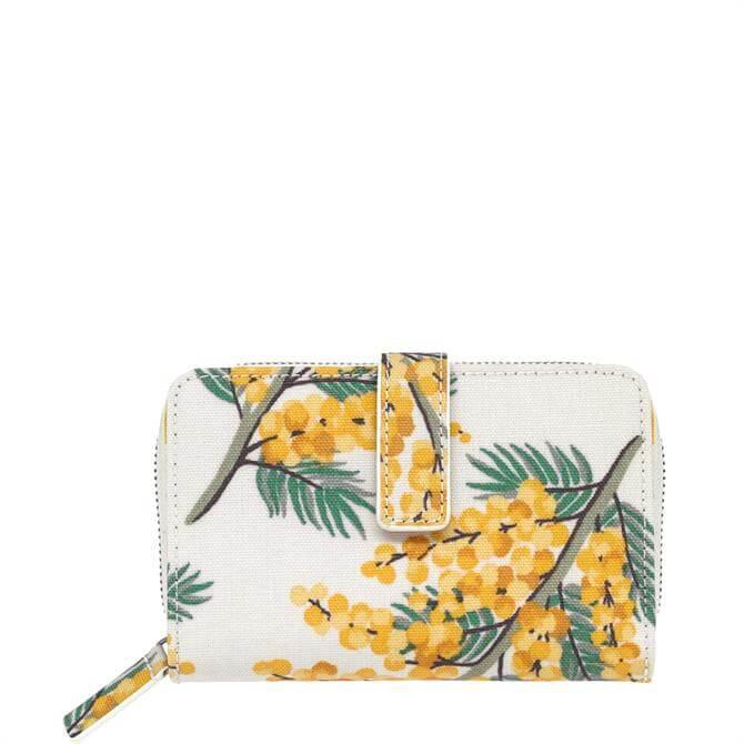 Cath Kidston Mimosa Flower Folded Zip Wallet
