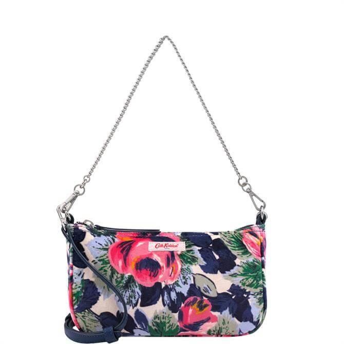 Cath Kidston Oxford Rose Velvet Demi Bag