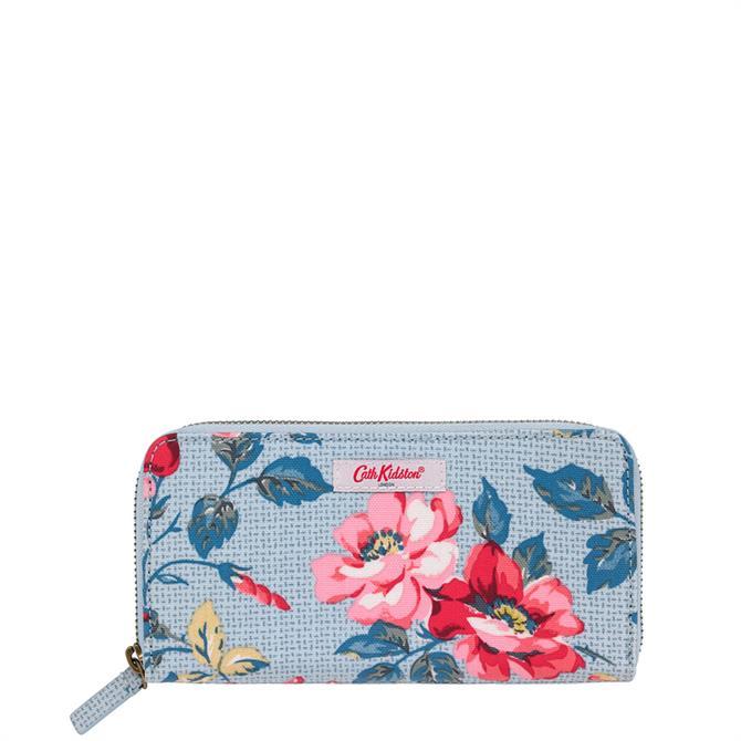 Cath Kidston Pembroke Rose Continental Zip Wallet
