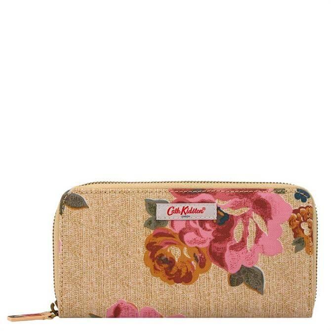 Cath Kidston Somerset Rose Continental Zip Wallet