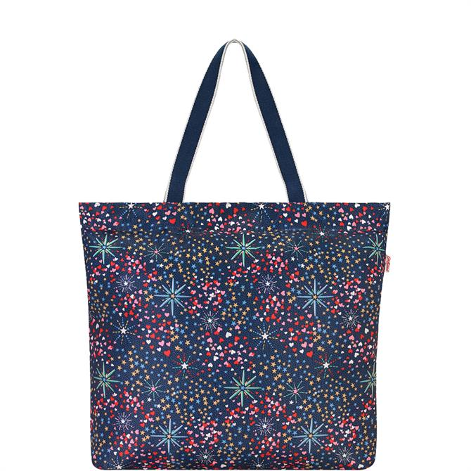 Cath Kidston Midnight Stars Large Foldaway Tote Bag