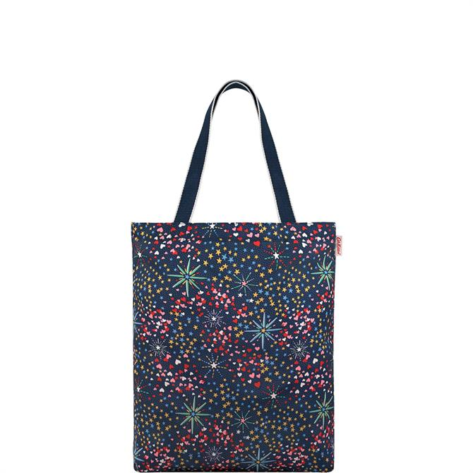 Cath Kidston Midnight Stars Foldaway Tote Bag