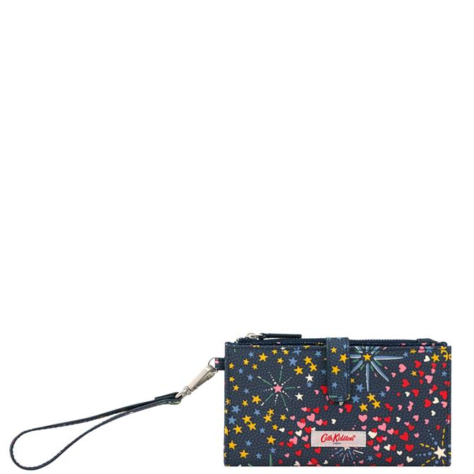 Cath Kidston Midnight Stars Phone Wallet with Wristlet