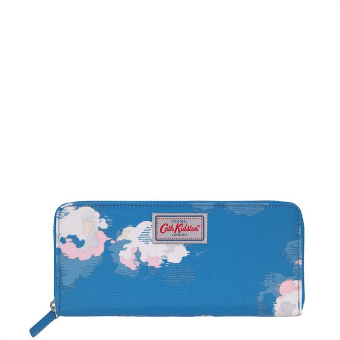 Cath Kidston Clouds Travel Continental Wallet