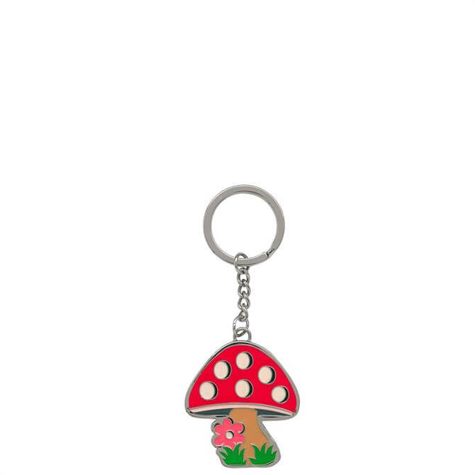 Cath Kidston Mini Mushroom Key Ring