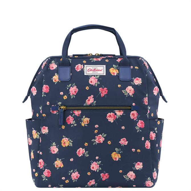Cath Kidston Wimbourne Rose Heywood Frame Backpack