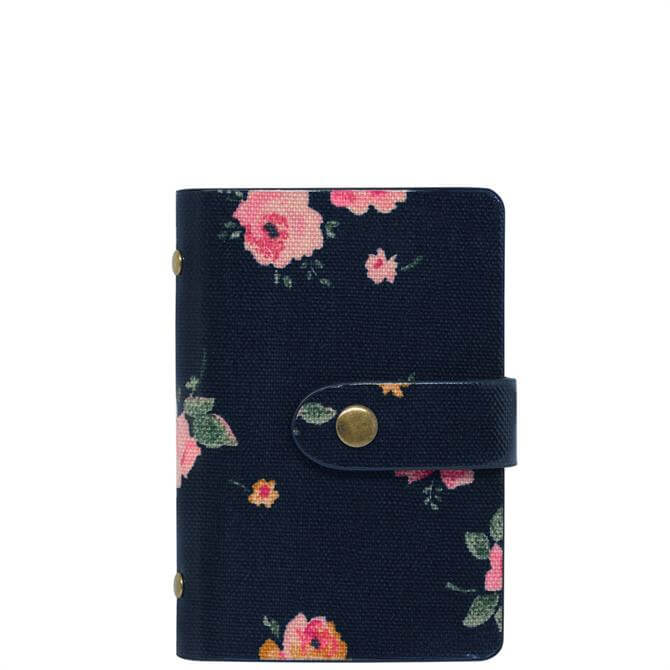 Cath Kidston Wimbourne Rose Book Style Card Holder