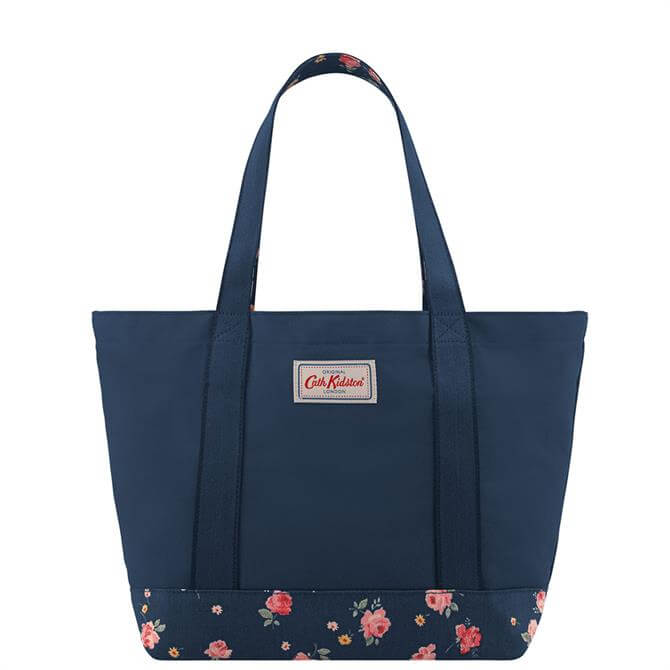 Cath Kidston Wimbourne Rose Colour Block Tote Bag