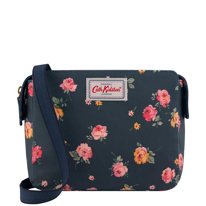 Cath Kidston Wimborne Rose Mini Multi Pocket Bag
