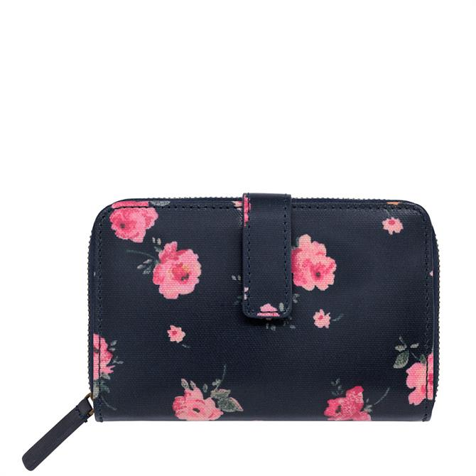 Cath Kidston Wimbourne Rose Folded Zip Wallet