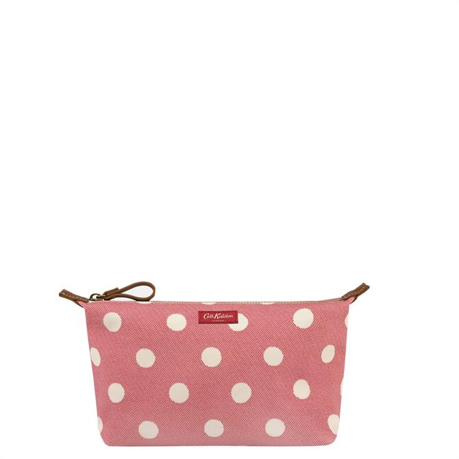 Cath Kidston Button Spot Red Beauty Pouch