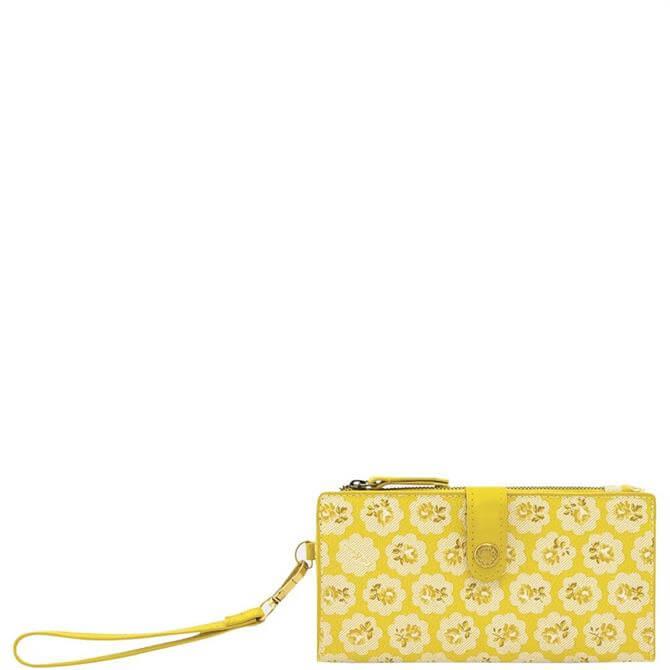 Cath Kidston The Freston Yellow Phone Wallet