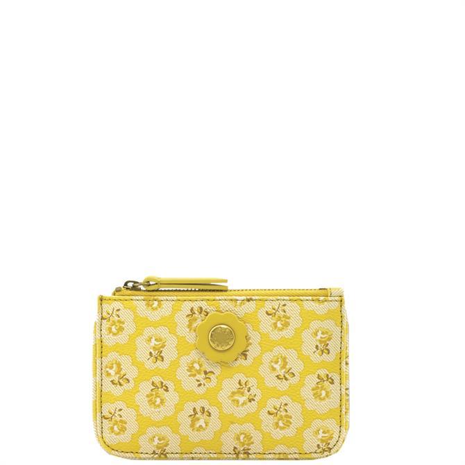Cath Kidston The Freston Yellow Small Wallet