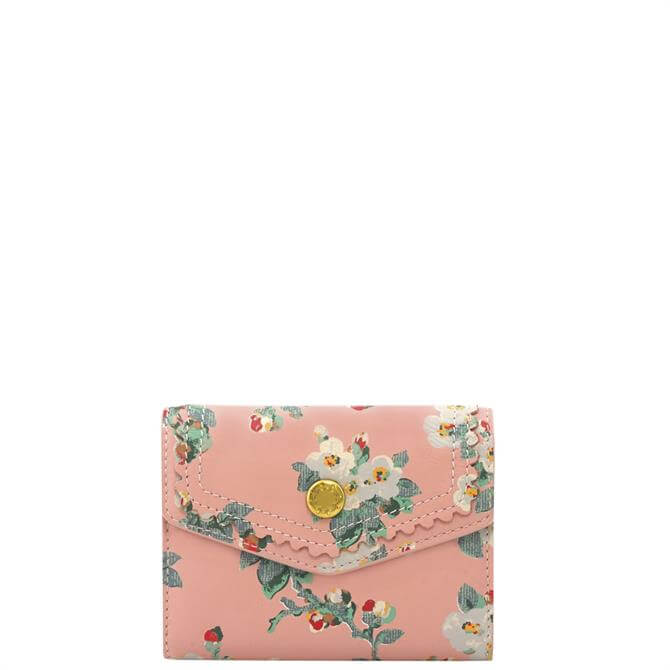 Cath Kidston Mayfield Blossom Small Leather Envelope Wallet