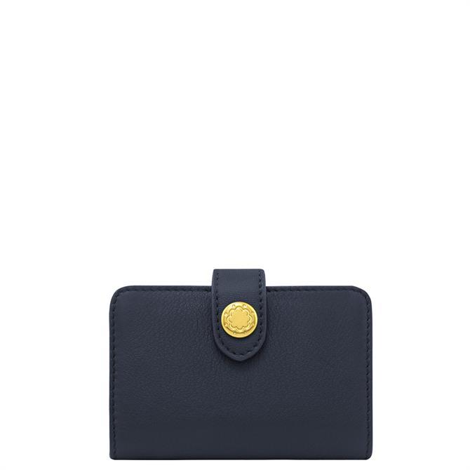 Cath Kidston Dark Navy Leather Card Holder