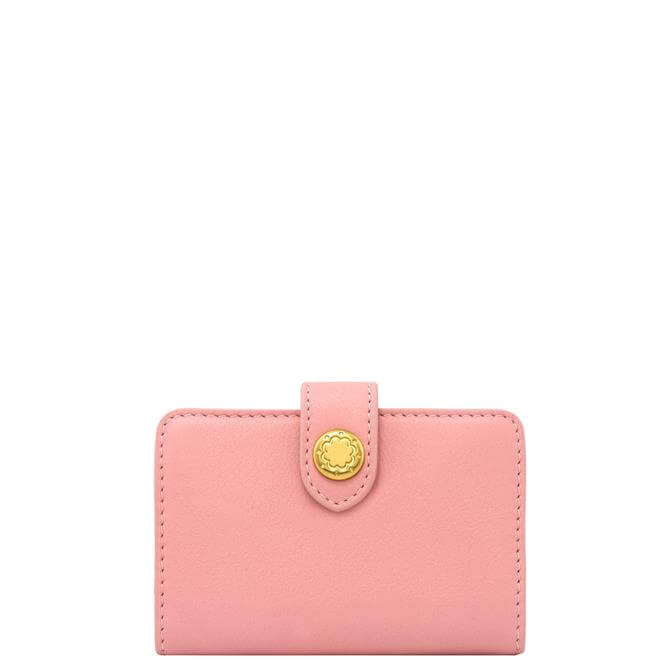 Cath Kidston Pink Leather Card Holder