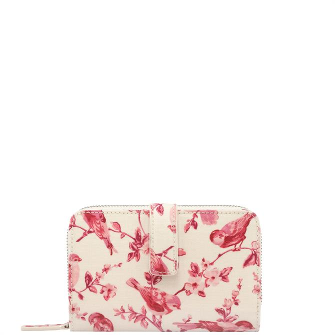 Cath Kidston British Birds Folded Zip Wallet
