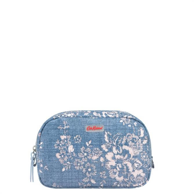 Cath Kidston Washed Rose Classic Box Cosmetic Bag